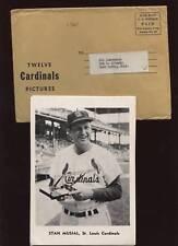 1961 Jay St. Louis Cardinals Team Photo Set Envelope