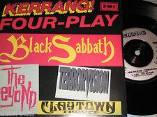 "7"" EP - Black Sabbath Claytown Troupe Terrorvision The Beyond - UK MINT PROMO"