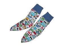 Handmade witzige Socken Gr. 21 / 22 mit Automotiven !!