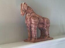 LOD Wooden Trojan Horse War at Troy Greeks Toy Soldier Diorama