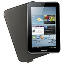 GENUINE SAMSUNG GALAXY TAB 2 7.0 P3100 P3110 LEATHER CASE COVER EFC-1G5LDECSTD