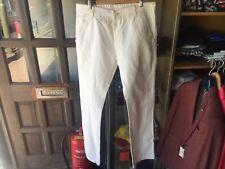 Stone Island Jeans, Straight Leg, White, 36X34 (Brand New)