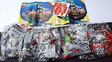 New Lego Atlantis 8077 Exploration Deep Sea Headquarters Submarine Firing Torped