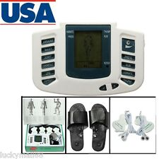 TENS Digital Therapy Machine Body Massager Muscle Pain Relief Skin Acupuncture