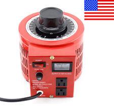 Variac Variable Transformer Powerstat AC Voltage Regulator 2000w 20Amp 110V Auto