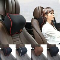 Car Seat Headrest Pad Memory Foam Massage Neck Pillow Head Rest Support Cushion