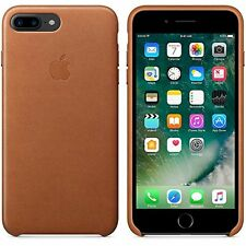 100 Official Genuine Apple iPhone 7 Plus Leather Protective Case Cover Brown