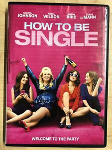 How to be Single (DVD, 2016) - G1122