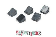 Job Lot Pack of 5 Lego 54200 1X1x2/3 Roof Tile 4504382