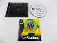 Mint Disc Playstation 1 Ps1 Gex 3 III Deep Cover Gecko - Disc & Manual