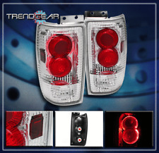 1997-2002 FORD EXPEDITION HALO TAIL BRAKE LIGHTS LAMP CHROME 1998 1999 2000 2001