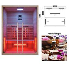 Sauna infrarossi Ruby 2 riscaldamento a 5 lampade - aromaterapia