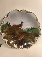 "Royale Germany Poluszynki Game Plate ""The Fox"" No. 45 of 500 Limited Edition"
