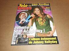 Télé Loisirs n° 870 Novembre 2002 - Johnny Hallyday ; Céline Dion ...