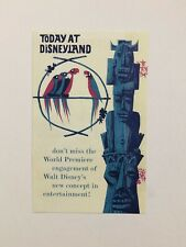 DLR Enchanted Tiki Room 50th Anniversary Replica Brochure Annual Passholder