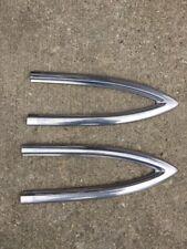 1953-1954 Chevy Bel Air Rear Quarter Mouldings.