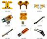 Aluminum metal Upgrade Parts Fit For 1/10 Tamiya CC01 4WD RC Car Parts yellow