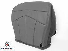 1999 Ford F-150 Lariat 4X4 4WD Quad -Driver Side Bottom Leather Seat Cover GRAY
