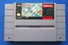 ★☆☆ Super Nintendo   SNES ☆ Wings 2 Aces High - (NTSC) ☆ Cart Only ☆☆★