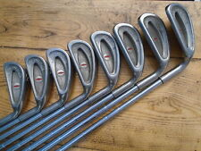 PRE LOVED OLD & COLLECTABLE ~ PING EYE IRONS ~ STEEL SHAFTS ~ 3 - PW