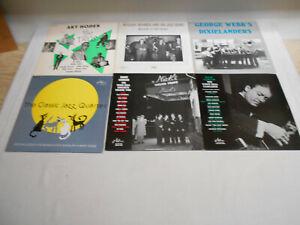 Jazz - Jazzology Label 113 - 1004 - Sammlung 8 LP's