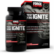 🔥🔥Force Factor Test X180 Ignite 60ct Exp 11/2023