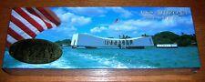 "USS Arizona Memorial 500 pcs. Jigsaw Puzzle Brand New Sealed from Museum 12x36"""
