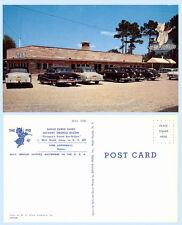 The Pig Georgias Finest Barbecue Jesup Georgia  Postcard  Retro Sign 1950's Auto
