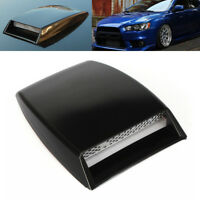 Universal Car Air Flow Intake Vent Scoop TURBO Bonnets Cover Case Hood ABS Decor