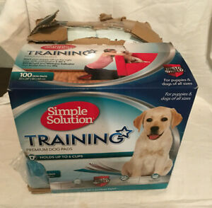 Simple Solution Training Pads for Dogs, Premium, 23x24 22X22, 250 total pads