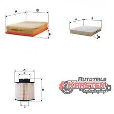 Set M: Innenraumfilter+Luftfilter+Kraftstofffilter Inspektionsset OPEL CHEVROLET