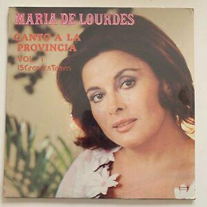 Maria de Lourdes, Canto a La Provincia Vol 1, 1987 Mexican Lp Factory Sealed