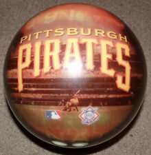 2002 PreOwned 8 # Pound Pittsburgh Pirates Bowling Ball w Bag Great Graphics MLB