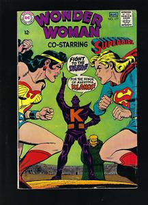 WONDER WOMAN #177 JULY 1968 V. SUPERGIRL. DC COMICS RARE FINE/VF