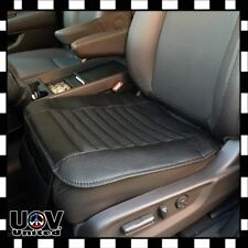 Breathable PU Bamboo Charcoal Car Seat Cushion Cover Pad Mat Protector Pockets U