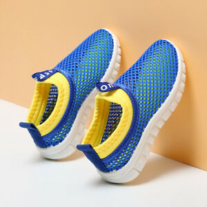 Kids Trainers Boys Girls Running Lightweight Sports Shoes Gym School Sneakers UK