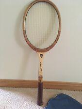 Vintage Grosvenor Tennis Racquet Championship Play Laminated Frame Made England
