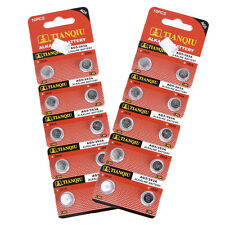 20 X AG5 Batteries Alkaline G5 LR754 LR48 193 SR754W GP93A 393 Button Coin Cell