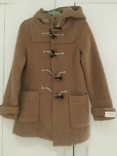 Topshop Beige Duffle Coat Size UK12 New With Tags RRP £89