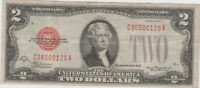 1928 D Series $2 Two Dollar Bill Red Seal US Legal Tender Note * XF *