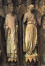 Alte Kunstpostkarte - Cathédrale de Reims - Saint-Nicaise et son Ange gardien