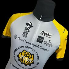 Nike Lance Armstrong 2004 Ride For The Roses Zip Cycling Jersey Shirt Medium M