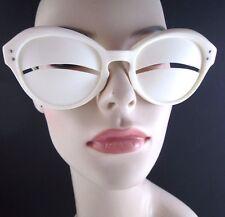 Original 1965 Andre Courreges Inuit Eskimo Slit Sunglasses - Authentic Designer