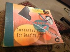 Freddy Martin & His Orchestra  Concertos for dancing rare nice 4 record bound