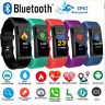 Bluetooth Smart Bracelet Fitbit Style Heart Rate Monitor Watch Tracker Pedometer
