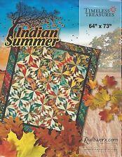 INDIAN SUMMER Foundation Paper Pieced Quilt Pattern by Judy Niemeyer 2015
