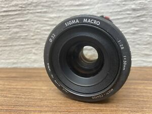 SIGMA MACRO 50mm f/2.8 Lens for Canon Japan - READ