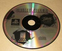 Crime Killer (Game Only) Playstation PS1 Fast Shipping