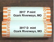 2017 OZARK RIVERWAYS, MO  P & D (2) Roll Both HEADS/TAILS ** IN STOCK **