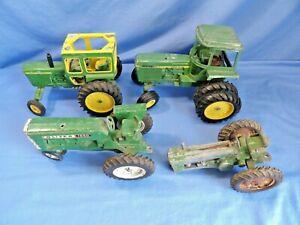 Lot of 4 Vintage John Deere Oliver Tractors for Parts